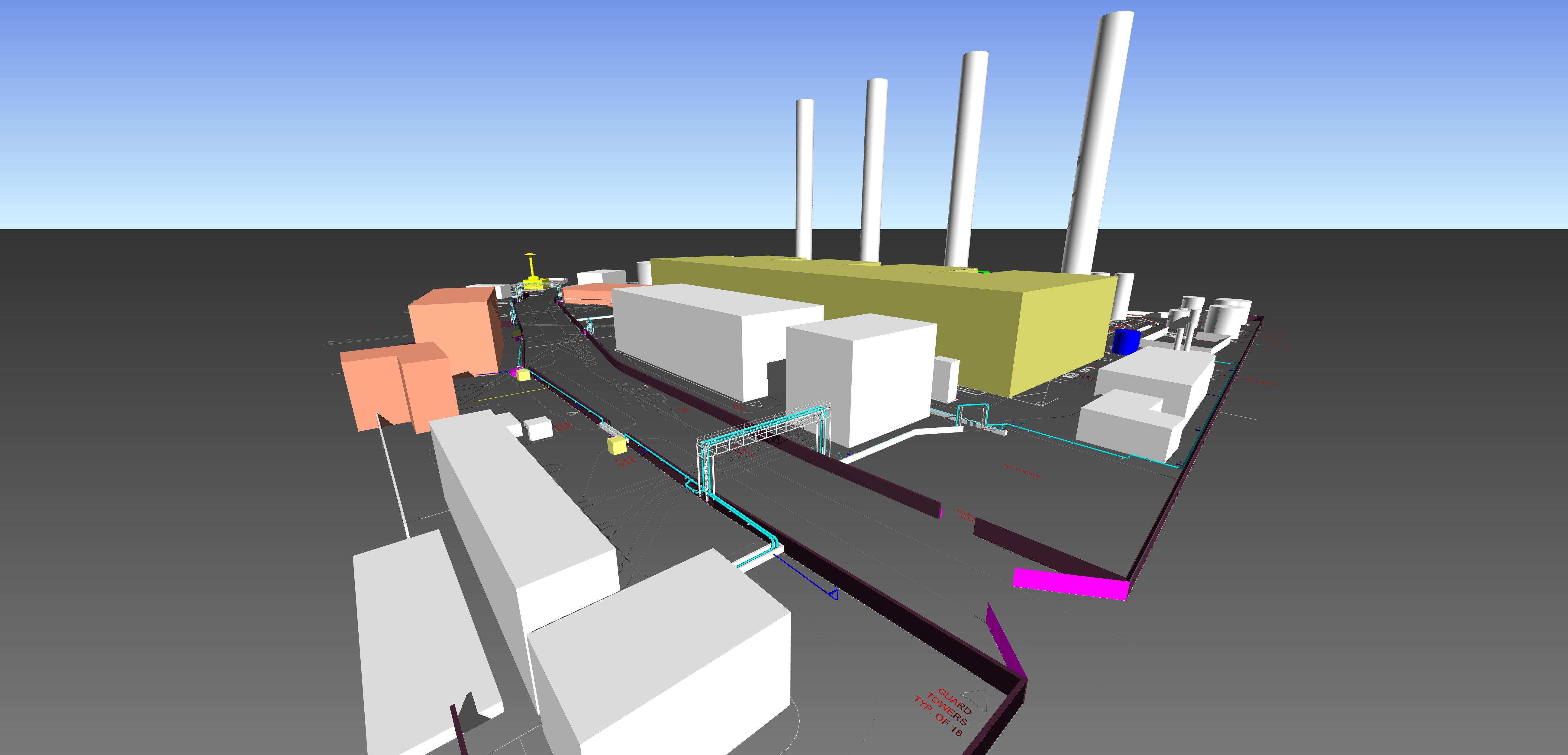Autodesk Plant 3D Mechanical System  3D Modeling Shubra Elkheima